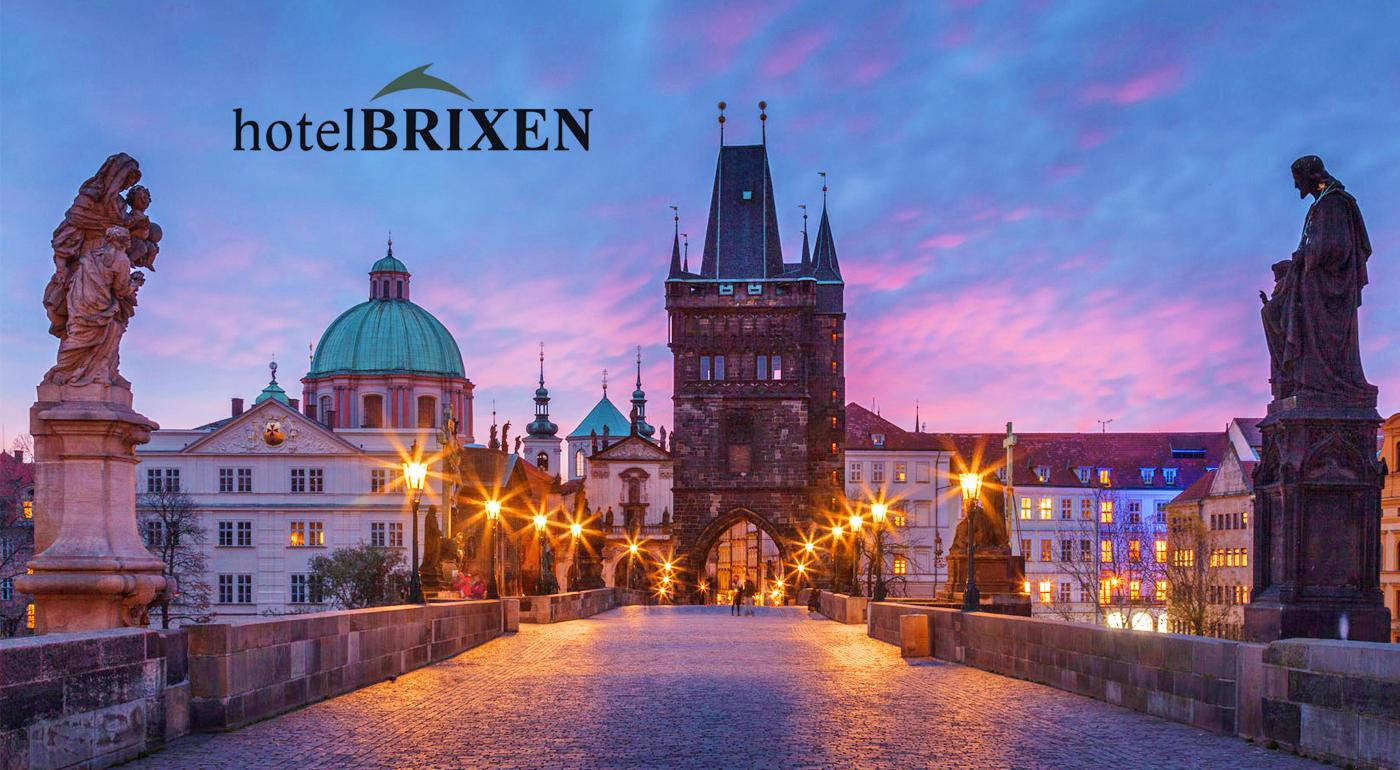 Pobyt pre dvojicu v Prahe v Hoteli Brixen*** s raňajkami! Ponuku môžete využiť aj cez víkend!