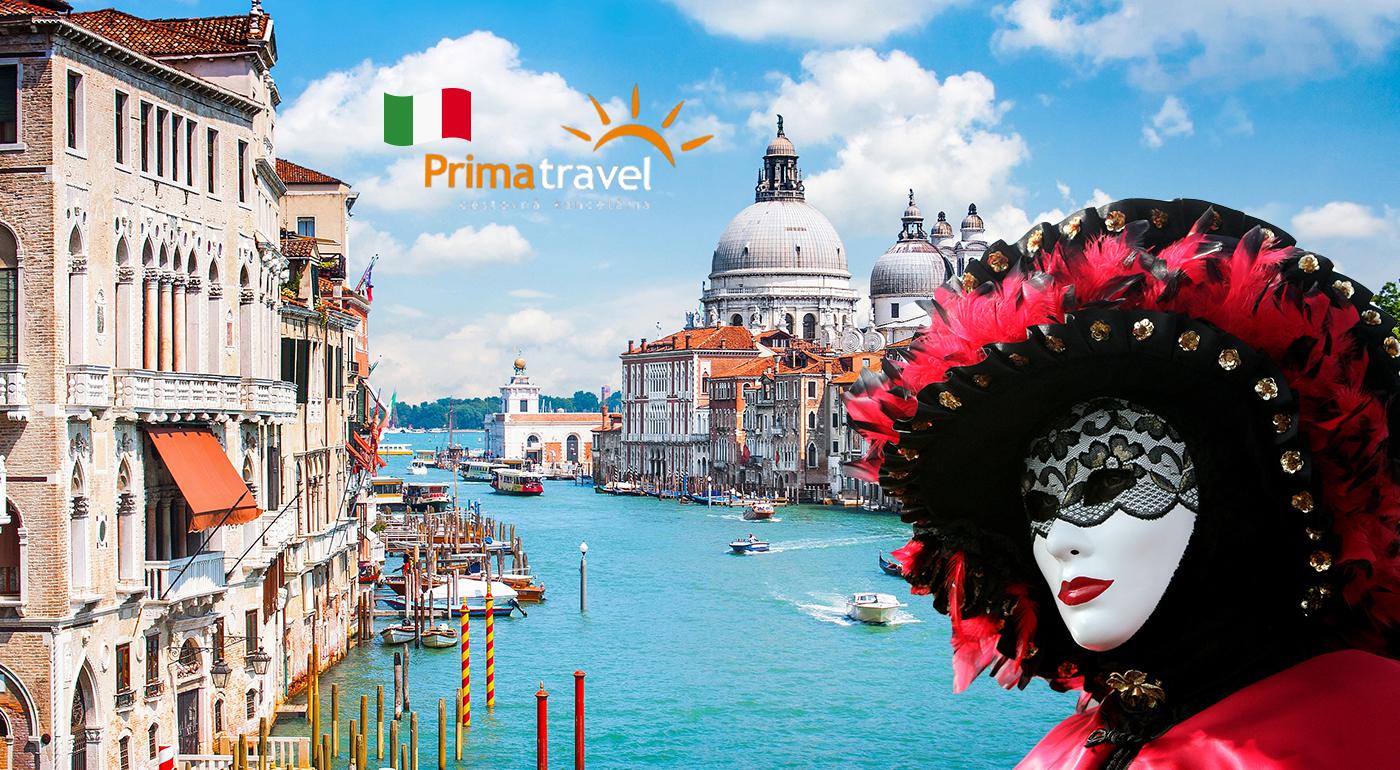 Karneval v Benátkach na 3 dni s možnosťou návštevy sklárskeho ostrova Murano