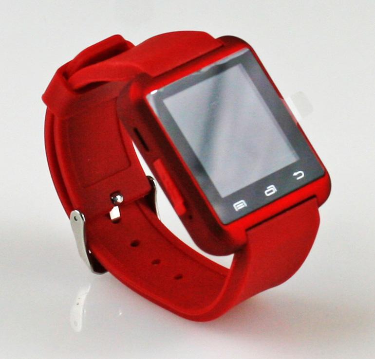 Inteligentné hodinky Smart Watch - červené