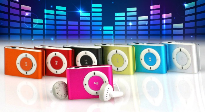 Fotka zľavy: Mini MP3 prehrávač len za 4,99 € v 7-mich veselých farbách. Vypočujte si svoje obľúbené pesničky a spríjemnite si každý deň cestu do práce či školy.