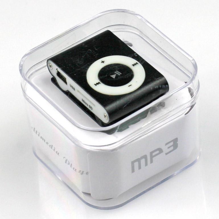 MP3 - mini prehrávač čierny