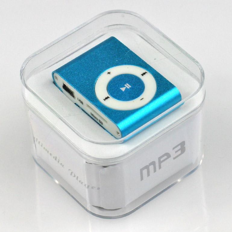 MP3 - mini prehrávač modrý