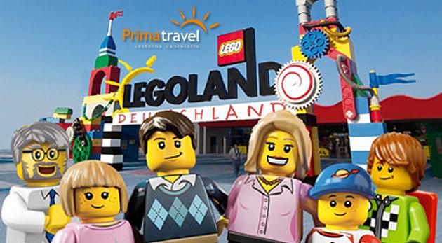 Fotka zľavy: Navštívte európske metropoly, obdivujte svetoznáme stavby, spustite sa na 18-metrovej horskej dráhe na jedinom zájazde - vyberte sa do sveta z lega, do Legolandu s CK Prima Travel len za 59 €!