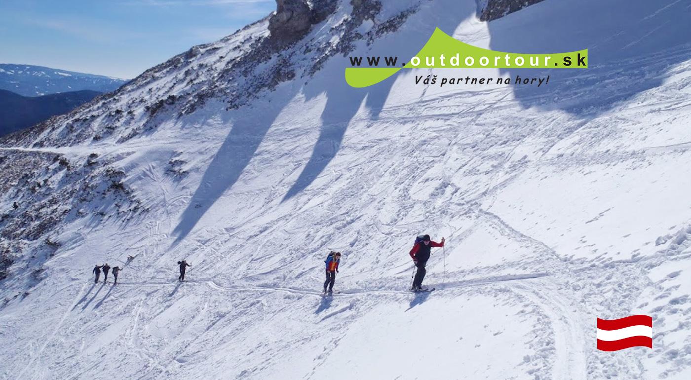 Zdolajte svoju prvú alpskú dvojtisícovku na lyžiach.