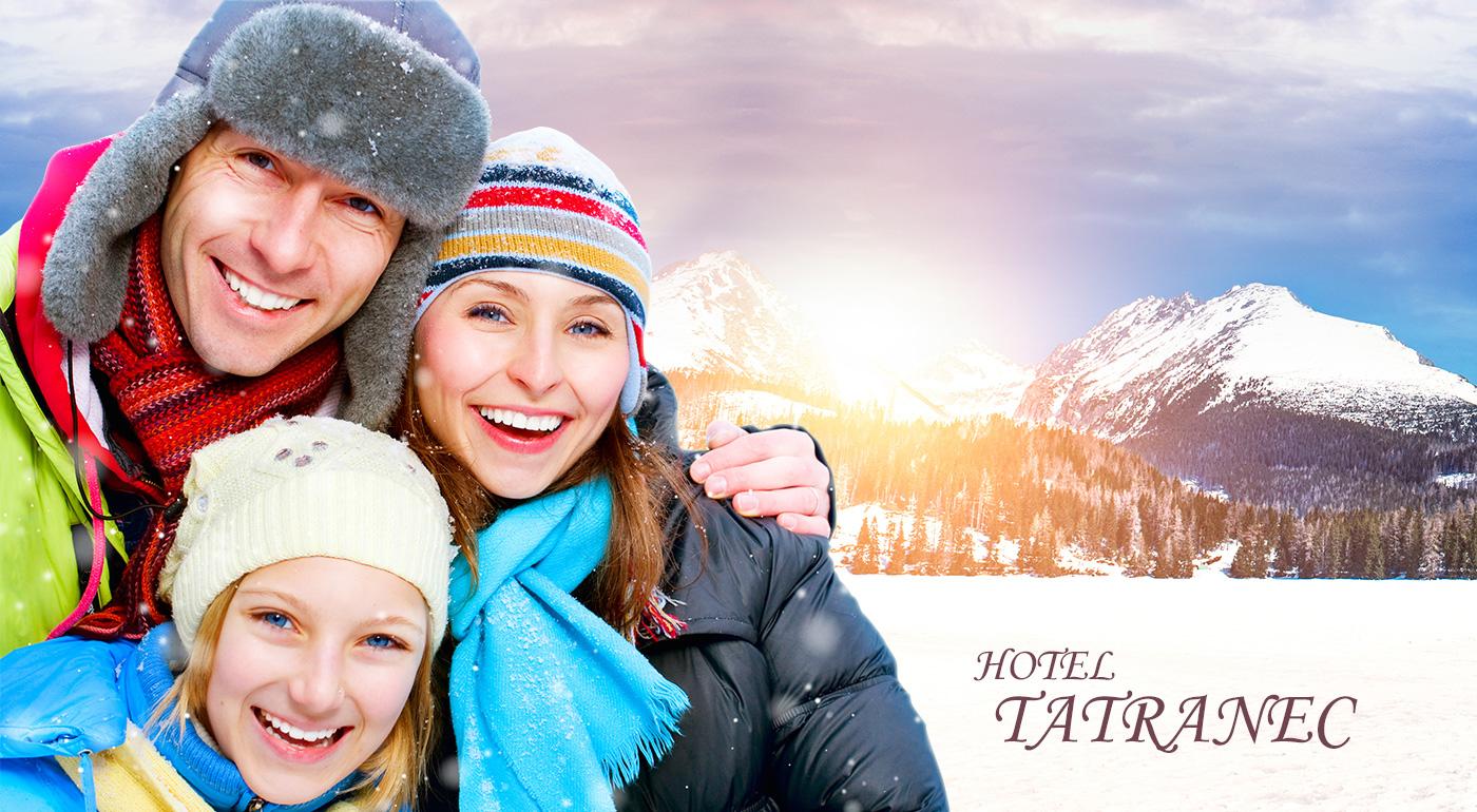 Hotel Tatranec - skvelý oddych v Tatranskej Lomnici s polpenziou počas 3 alebo 6 dní. Dieťa do 6 rokov zadarmo!