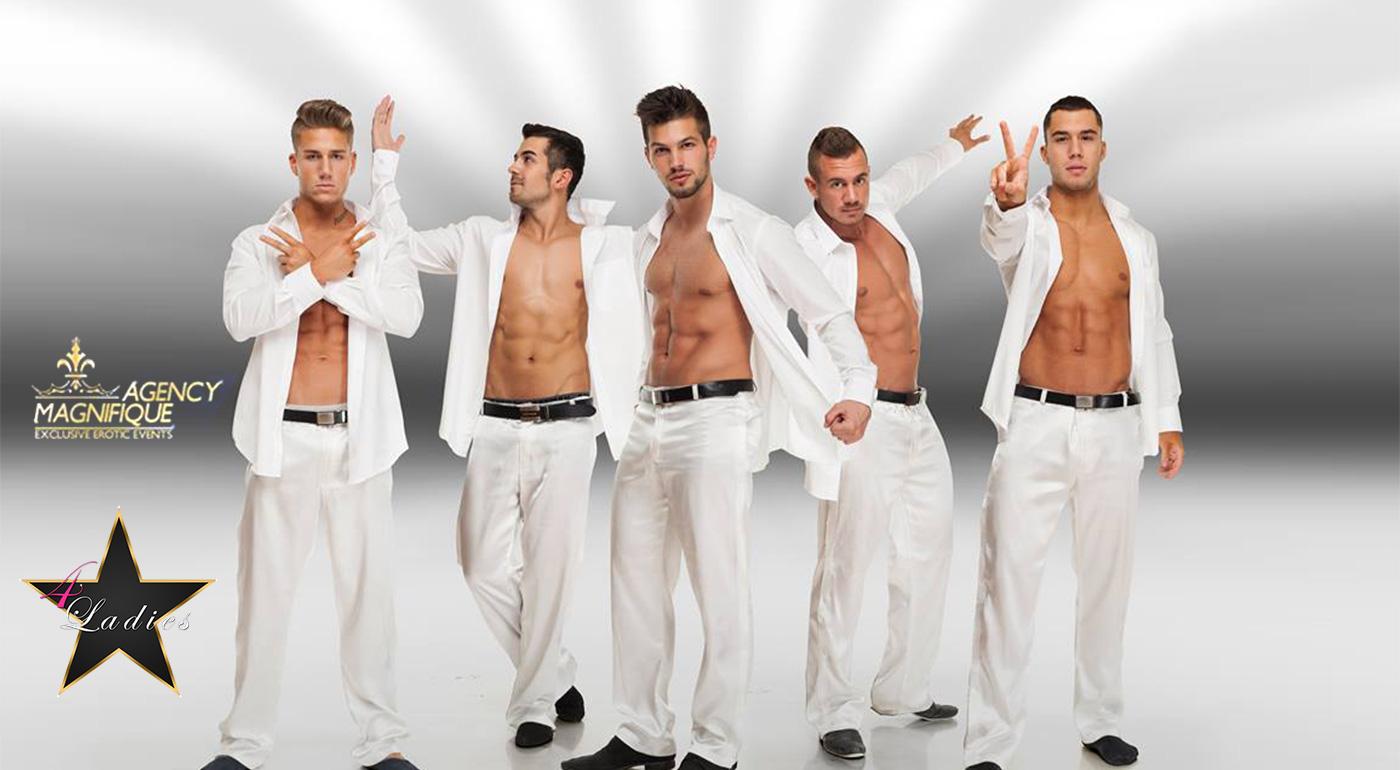 Pikantná zábava iba pre ženy! Najlepšia striptízová skupina Európy prvýkrát na Slovensku - v Bratislave, v Žiline a v Košiciach