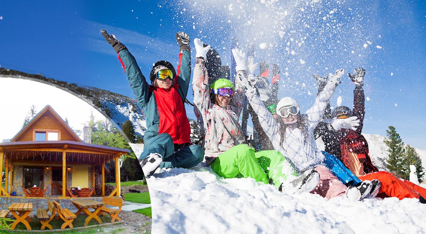 Apartmány na Orave v nádhernom lesnom prostredí pre 5 osôb neďaleko vychýreného lyžiarskeho strediska