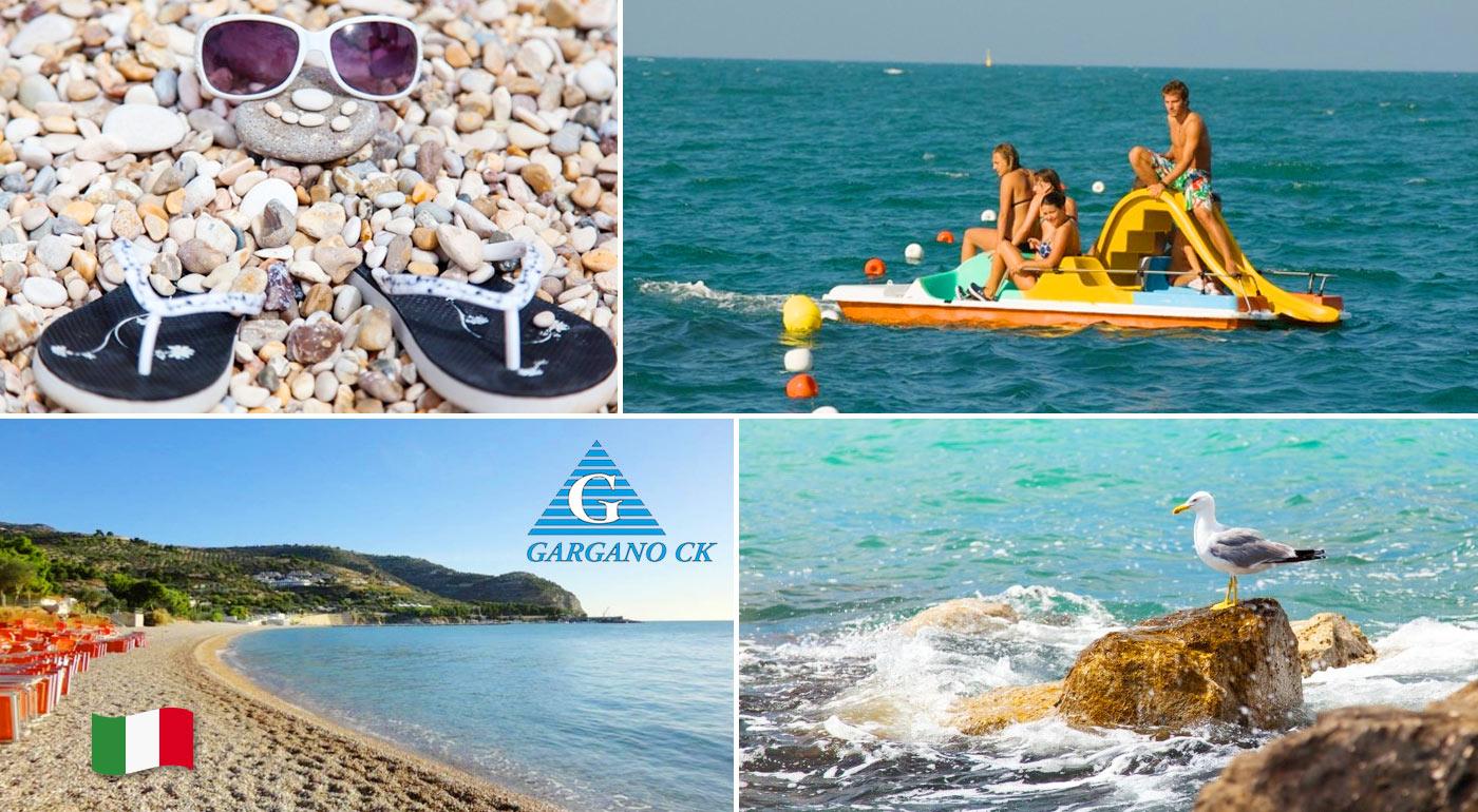 Darujte na Vianoce zážitok - dovolenku v obľúbenom talianskom letovisku Gargano! 10 alebo 13 vzrušujúcich dní priamo pri pláži vrátane polpenzie a dopravy.
