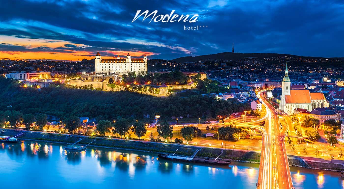 Hotel Modena*** v Bratislave - komfortná základňa na spoznávanie nášho hlavného mesta. V ponuke i kupón so súkromným wellness.