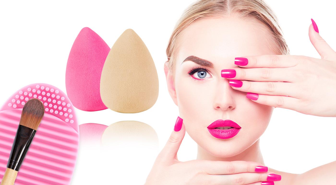 Hity roku 2015 v kozmetike - hubky na nanášanie mejkapu a silikónový čistič štetcov!