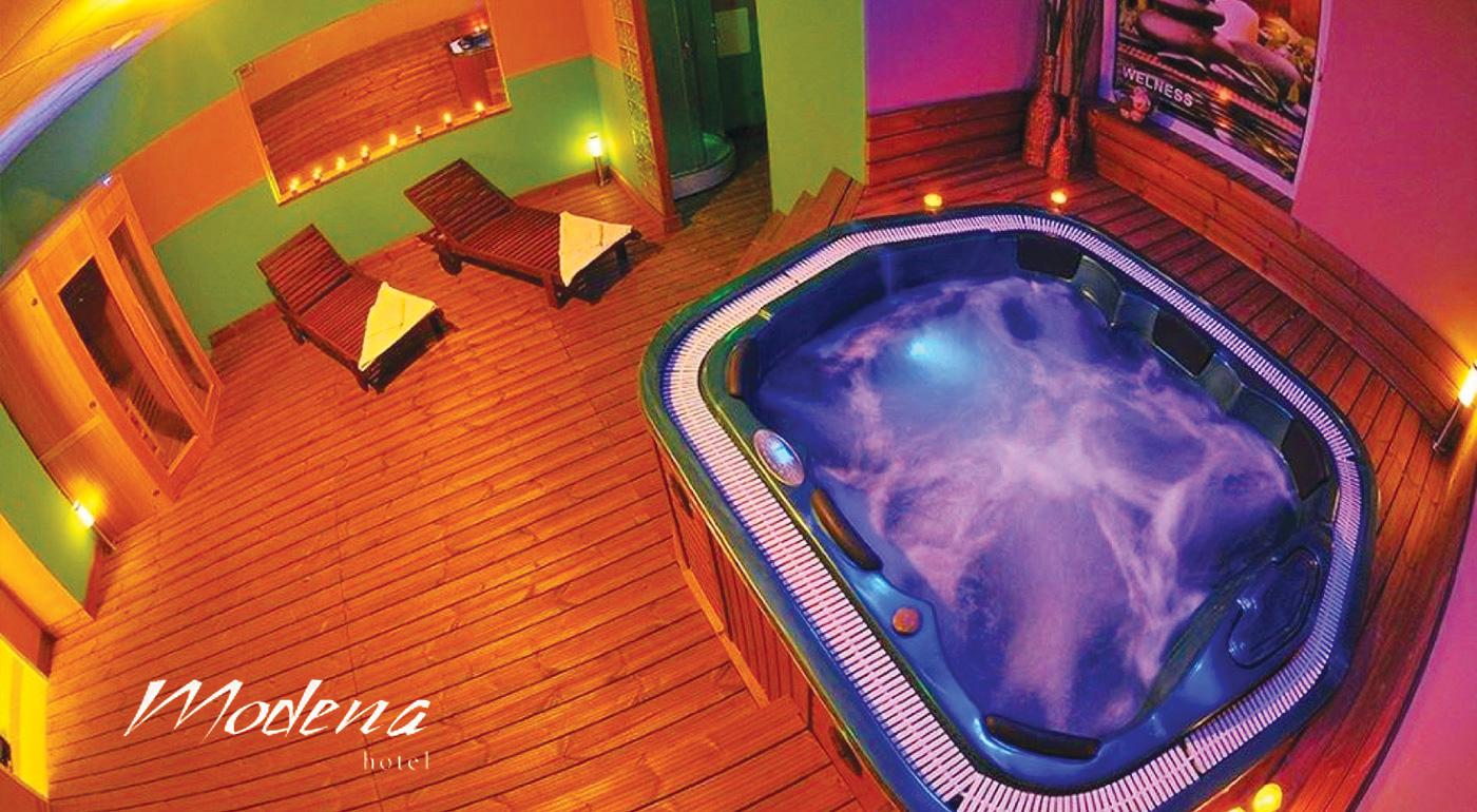 Súkromný wellness pre dvoch v Hoteli Modena*** v Bratislave