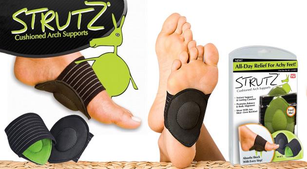 Klenbové podložky Strutz - zdravotná pomôcka pre namáhané chodidlá