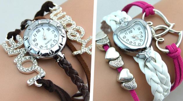 Dámske náramkové hodinky vo výnimočnom VINTAGE štýle