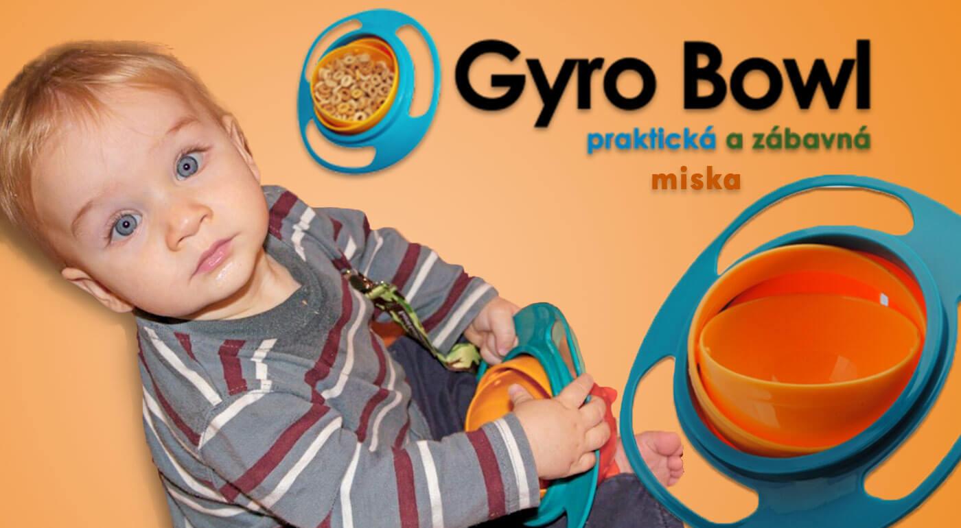 Zázračná miska pre deti - Gyro Bowl len za 3,99 €. Gyroskopická miska vyrobená špeciálne pre všetky deti, ktorá zabráni zbytočnému neporiadku v domácnosti. Osobný odber alebo zaslanie poštou.