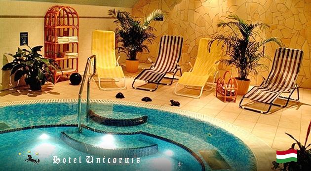 Osviežujúce 3 dni pre dvoch v maďarskom kúpeľnom meste Eger v Hoteli Unicornis*** s plnou penziou a wellness