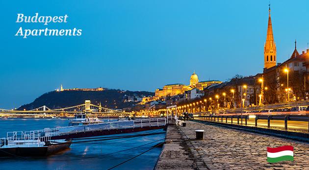 Luxusné 3 dni v centre mesta Budapešti v moderných apartmánoch pre dvoch