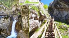 Zľava 40%: Prekonajte sami seba! Vydajte sa s nami na jarnú turistiku v Medvedej rokline v rakúskych Alpách len za 59 €. Bude to zážitok na celý život!