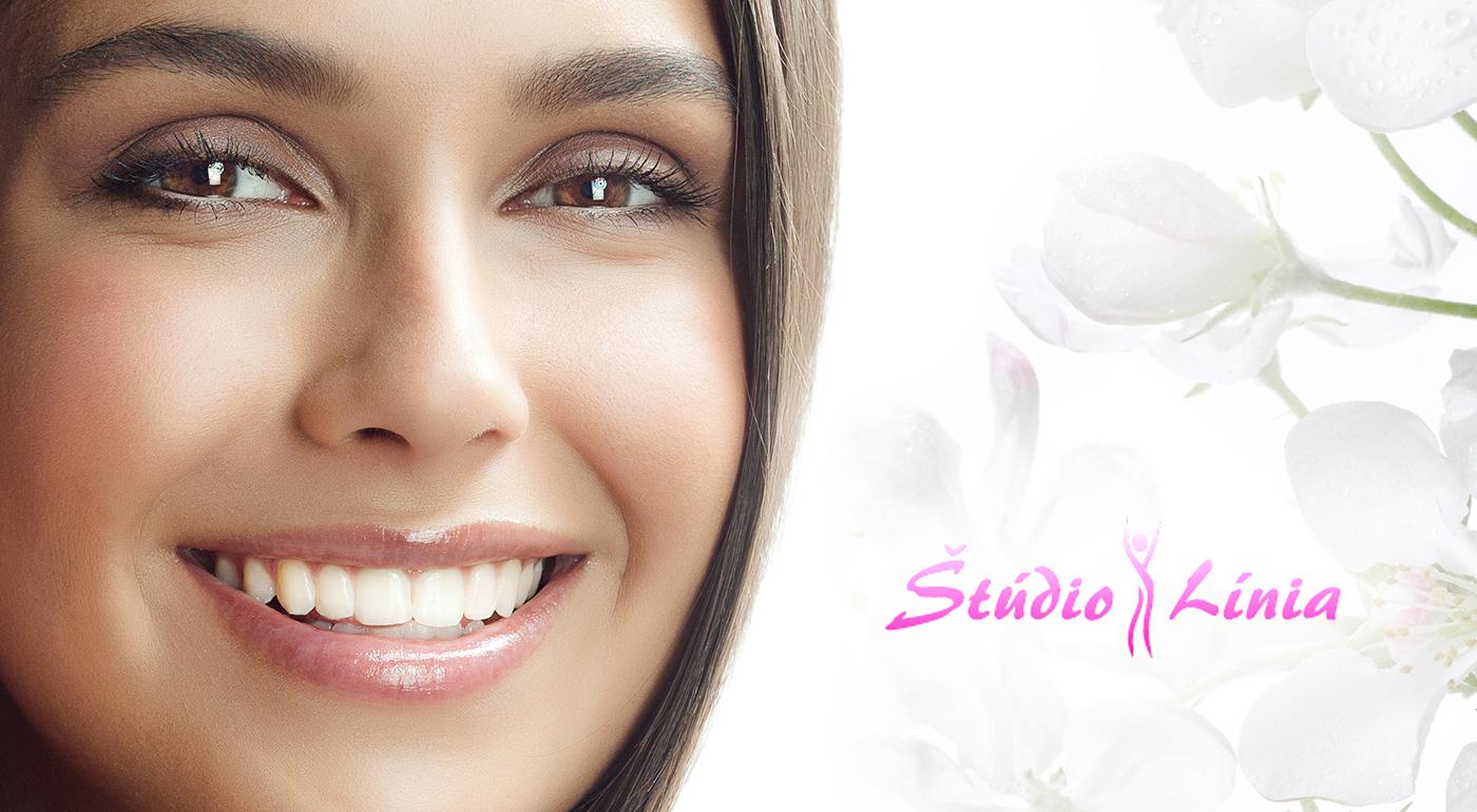 Bielenie zubov bez peroxidu v Štúdiu Línia v Bratislave