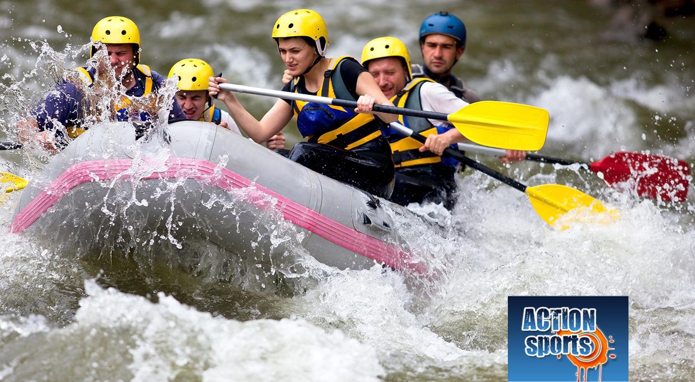 Fotka zľavy: Prekonajte samých seba - rafting na umelom vodnom kanáli v Liptovskom Mikuláši alebo splav rieky Belá len za 24,90€. V cene i skvelý bonus - voľný vstup na golfové ihrisko a videozáznam z vašej jazdy!