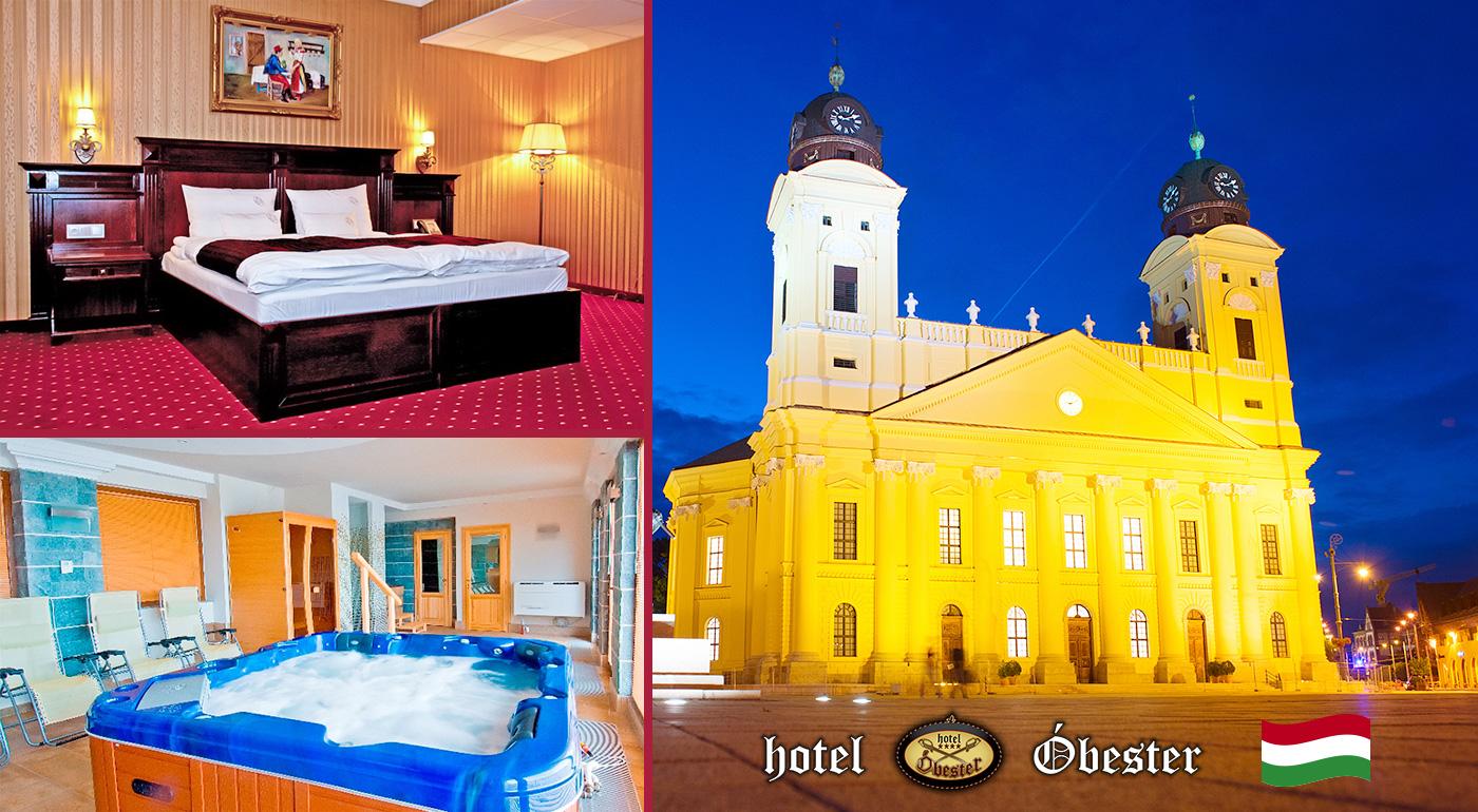 Rozmaznávací wellness pobyt na 3 dni pre dvoch v maďarskom meste Debrecen v Hoteli Óbester**** s raňajkami a wellness