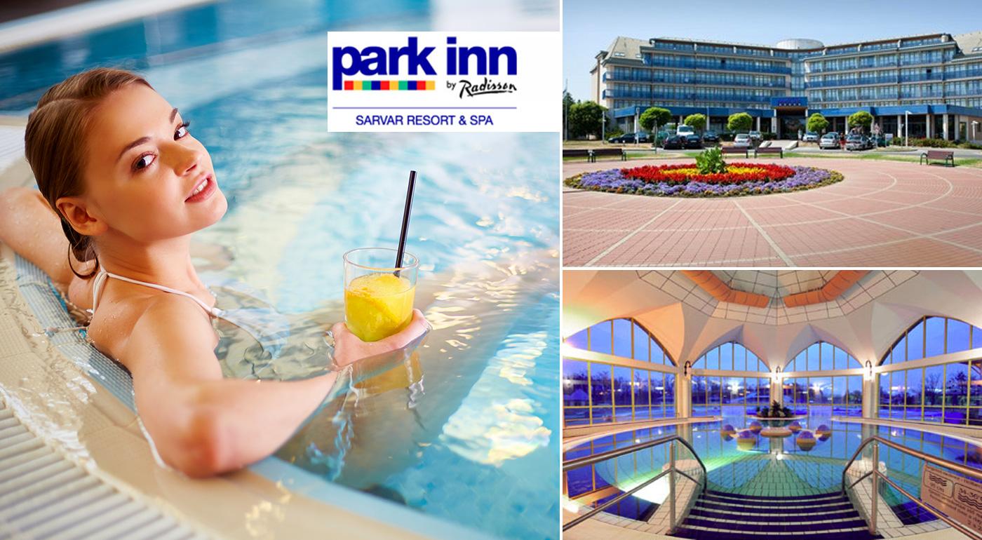 Fotka zľavy: Fantastický relax v kúpeľnom hoteli Park Inn**** v meste Sárvár už od 187 € na 5 dní s polpenziou a vstupom do termálnych kúpeľov. Dieťa do dovŕšenia 6 rokov zadarmo!