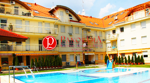 Fotka zľavy: Oddych pri slávnych maďarských kúpeľoch Hungarospa v Panoráma Wellness Apartman Hoteli**** len za 113 € pre dvoch na 3 alebo 6 dní s plnou penziou a voľným vstupom do wellness!