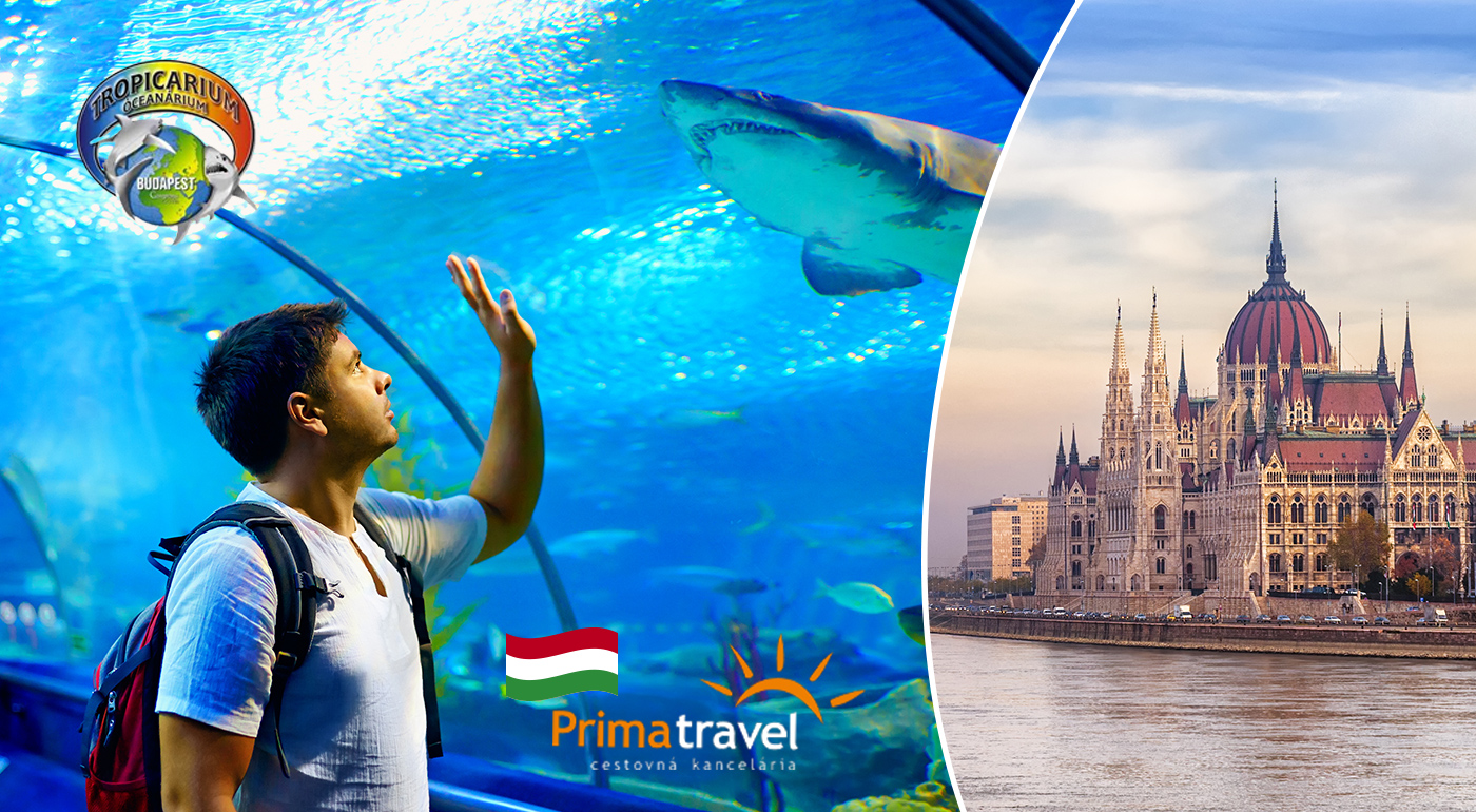 Nezabudnuteľný deň v Budapešti s návštevou Tropikária