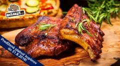 Zľava 50%: Vychutnajte si veľkú porciu grilovaných rebierok v chutnej medovej a jemne pikantnej marináde s prílohami alebo GrilMix už od 7,90 € v obľúbenom Mamut pube v centre Bratislavy!