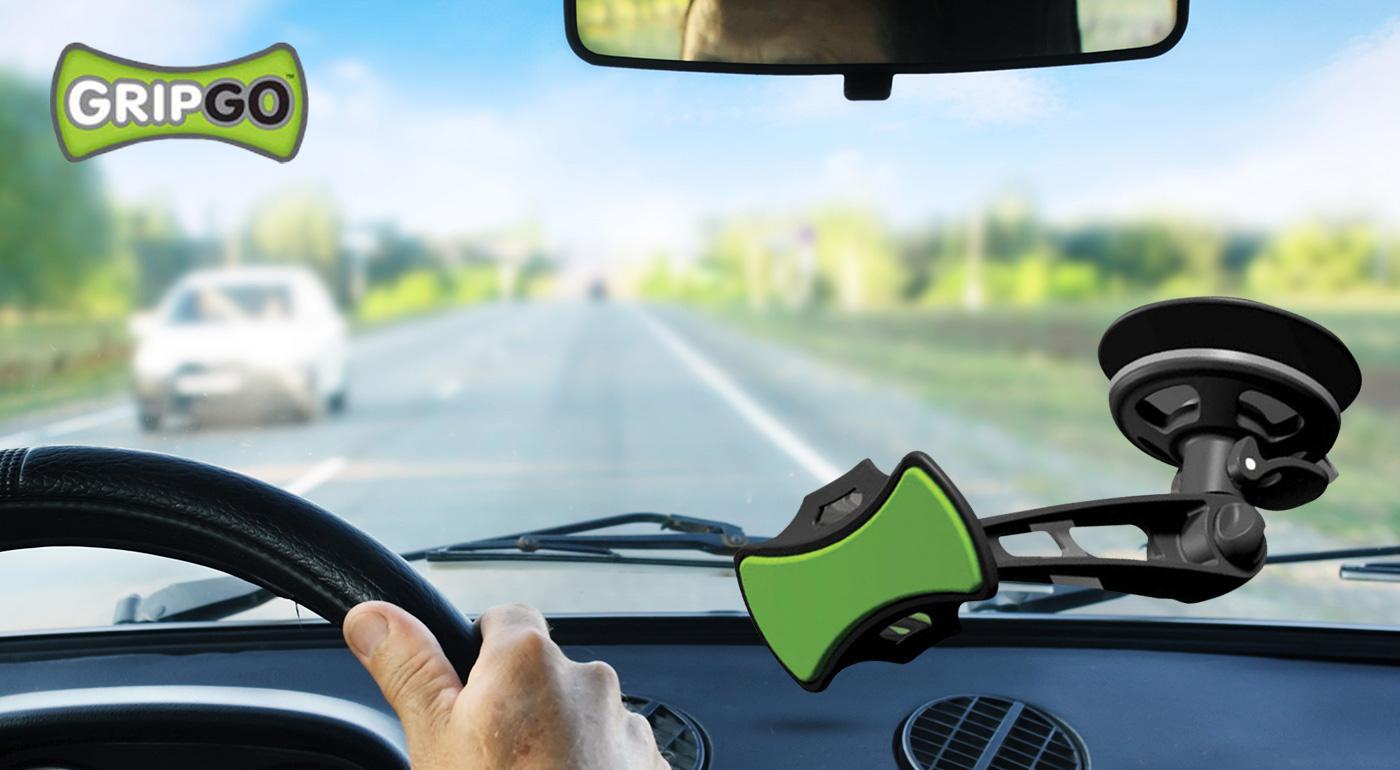Univerzálny držiak do auta na telefón či GPS GRIPGO