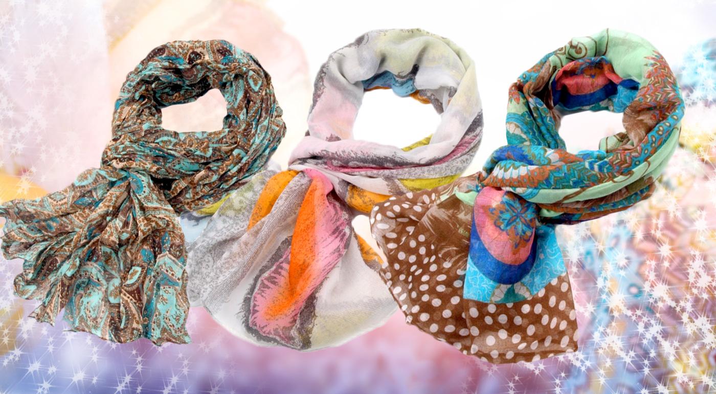 Rozžiarte zimu s krásnymi, príjemnými šálmi až v 13 farbách!