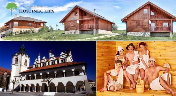 Fotka zľavy: Skvelá rodinná dovolenka na Spiši v chate Lipa až pre 11 ľudí na 3 dni len za 299 €. K tomu infra sauna a bohatá večera v reštaurácii pri chate.