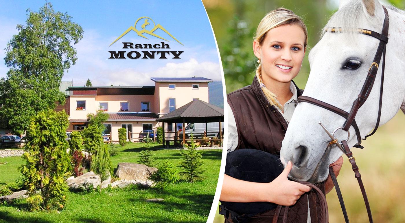 Fotka zľavy: Tatry nikdy neomrzia - doprajte si tri alebo štyri super dni v Penzióne Monty Ranch už od 34 €! Tešiť sa budete môcť z polpenzie, welcome drinku, vstupu do sauny a ďalších bonusov.