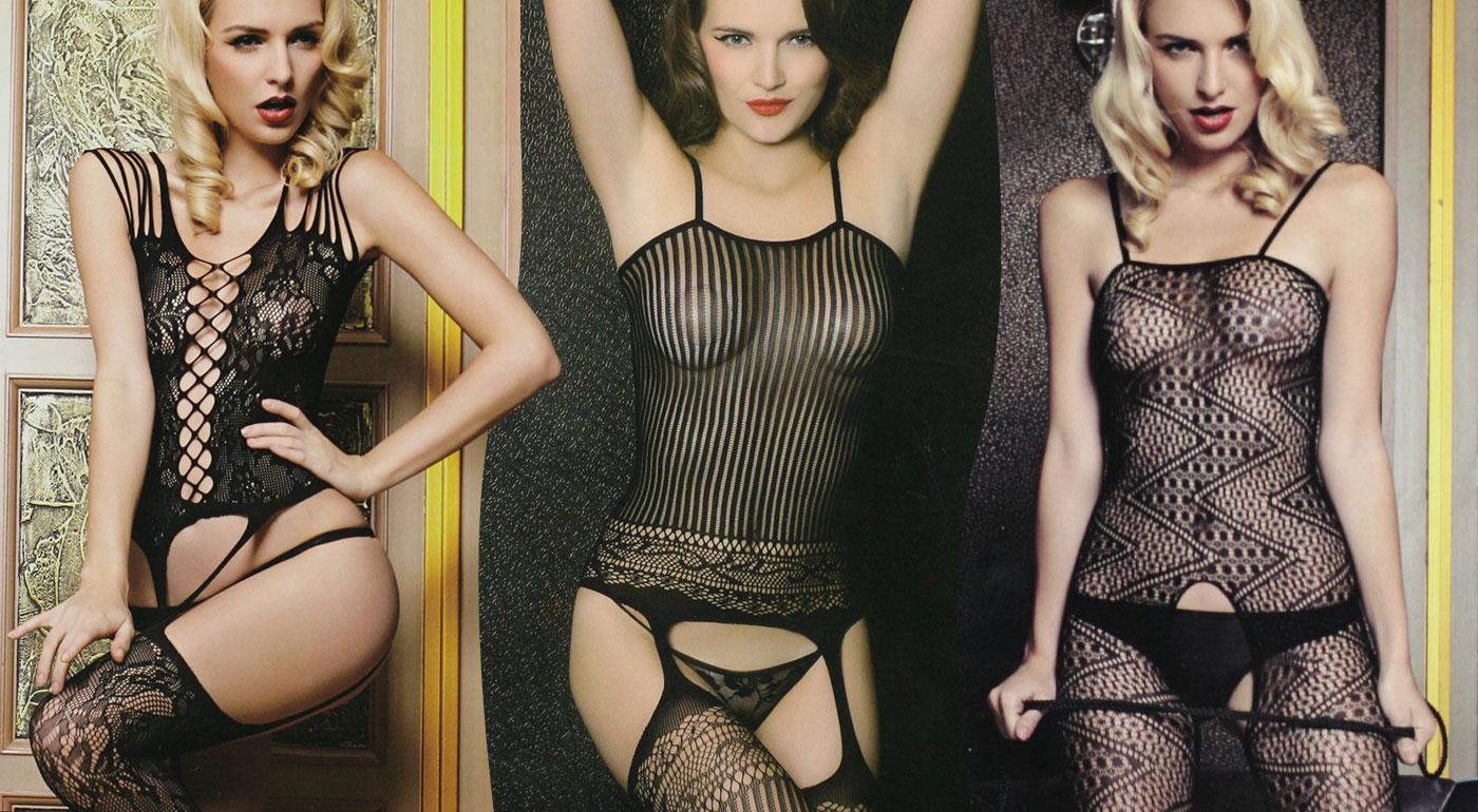 4aa9c607f Dámske sexi pletené erotické prádlo - na výber z 3 vzorov