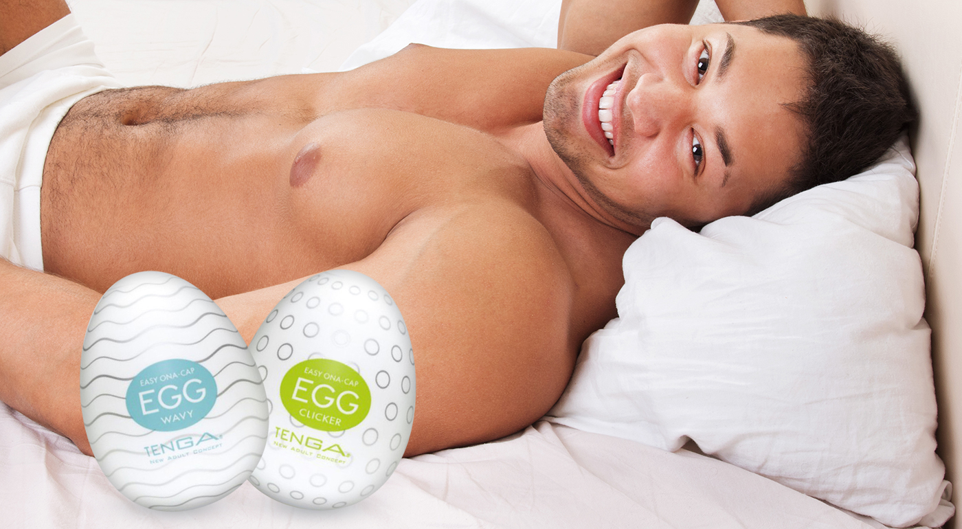 Pánska erotická pomôcka - vajíčko Tenga Egg