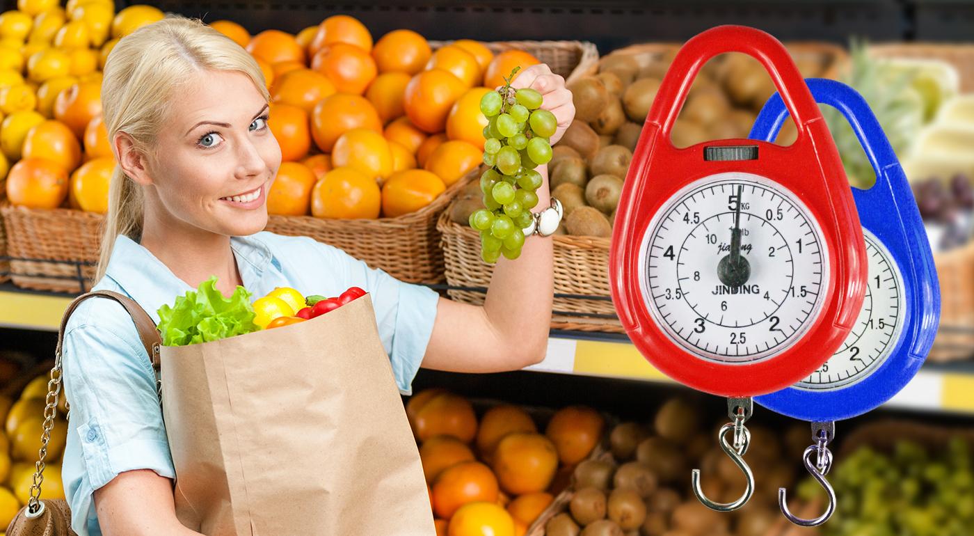 Závesná váha pre rýchle zistenie hmotnosti