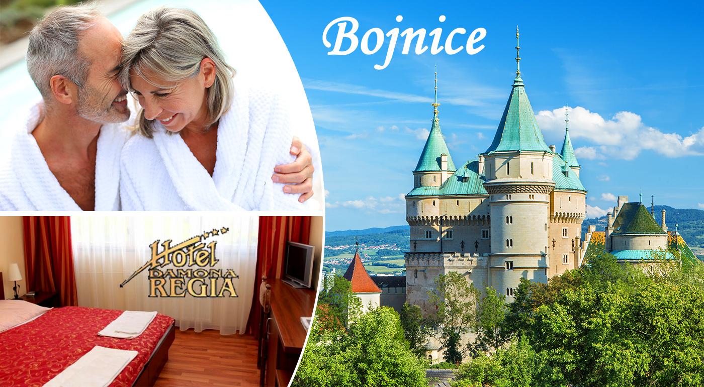 Fotka zľavy: Hotel Regia*** v Bojniciach - senior pobyt pre dôchodcov už od 66 € pre 1 osobu. Zámok, ZOO či kúpele doslova na dotyk a k tomu polpenzia, wellness, masáž, fitness,...!