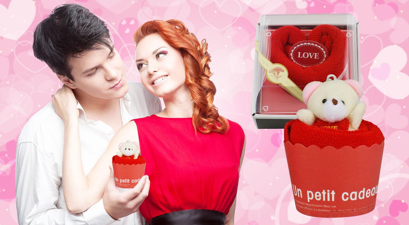 Hebké uteráčiky v tvare srdca alebo koláčika s príveskom macíka - romantický darček pre vašu drahú polovičku!