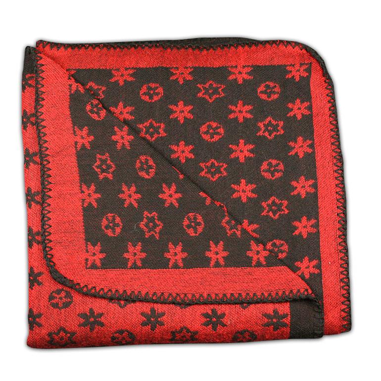 Dámske pončo - červená