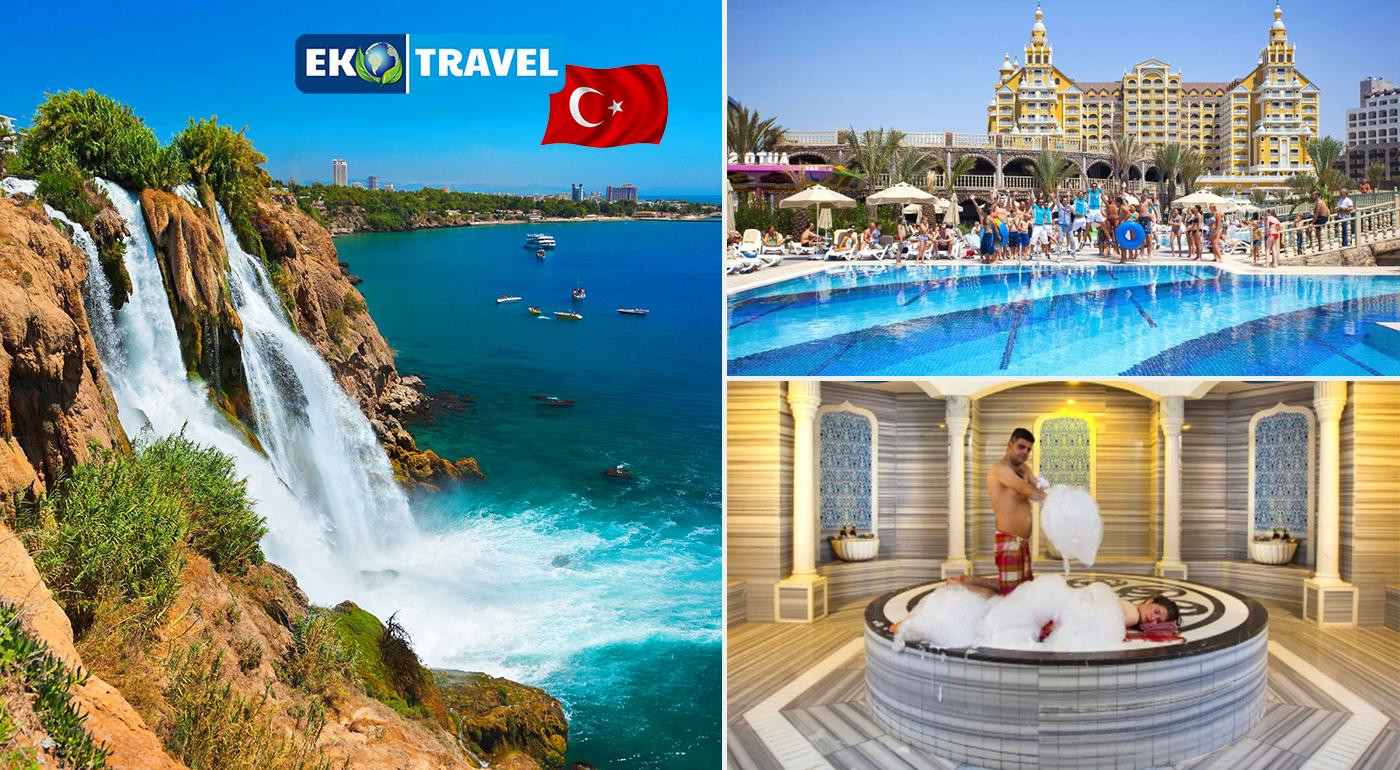 8-dňový letecký zájazd do Turecka pre 1 osobu ANTALYA – LÝKIJSKÉ POBREŽIE