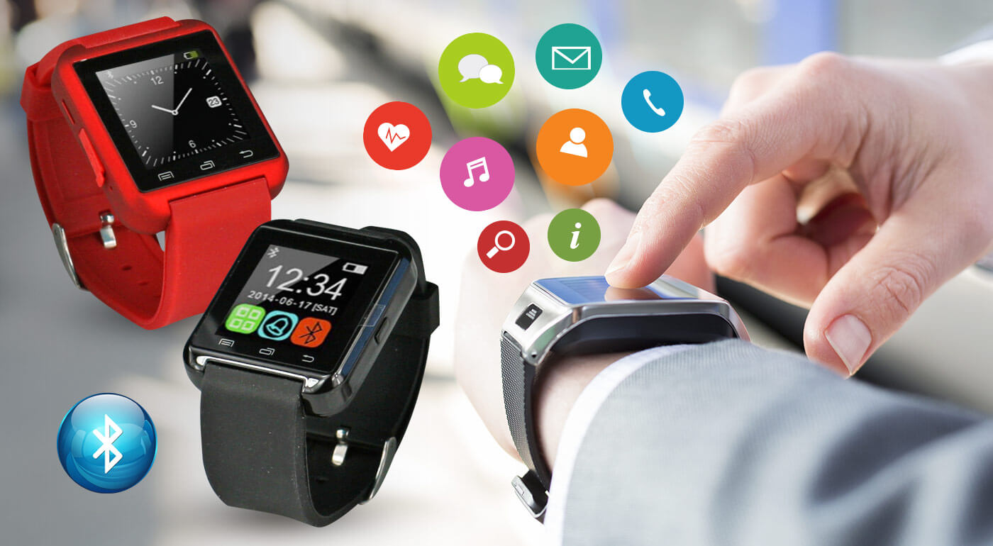 Fotka zľavy: Telefonovať, počúvať hudbu alebo využiť stopky pri športe cez hodinky! To všetko môžete jedine s unikátnymi inteligentnými hodinkami Smart Watch už od 25,99 €!