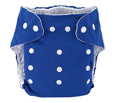 Detská látková eko plienka, farba modrá + vkladačka