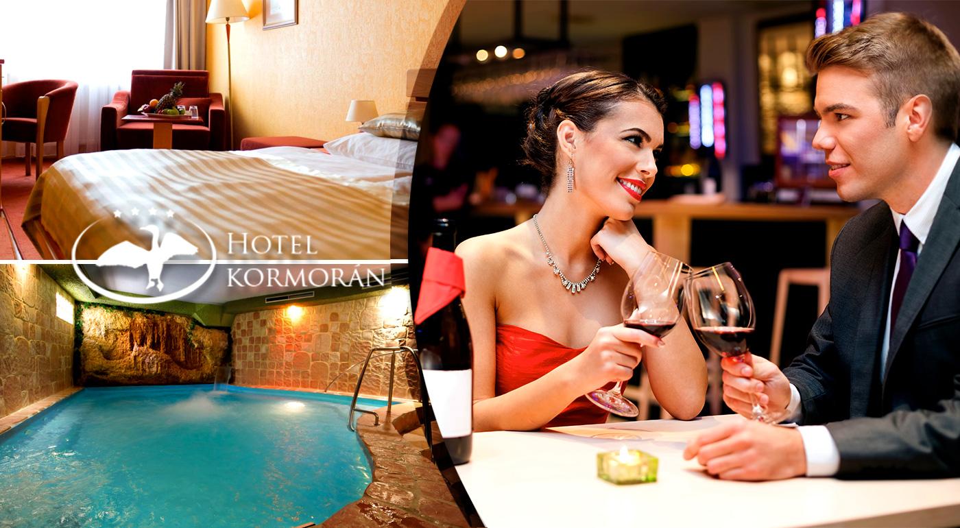 Valentín na brehu Dunaja plný luxusu v Hoteli Kormorán****!