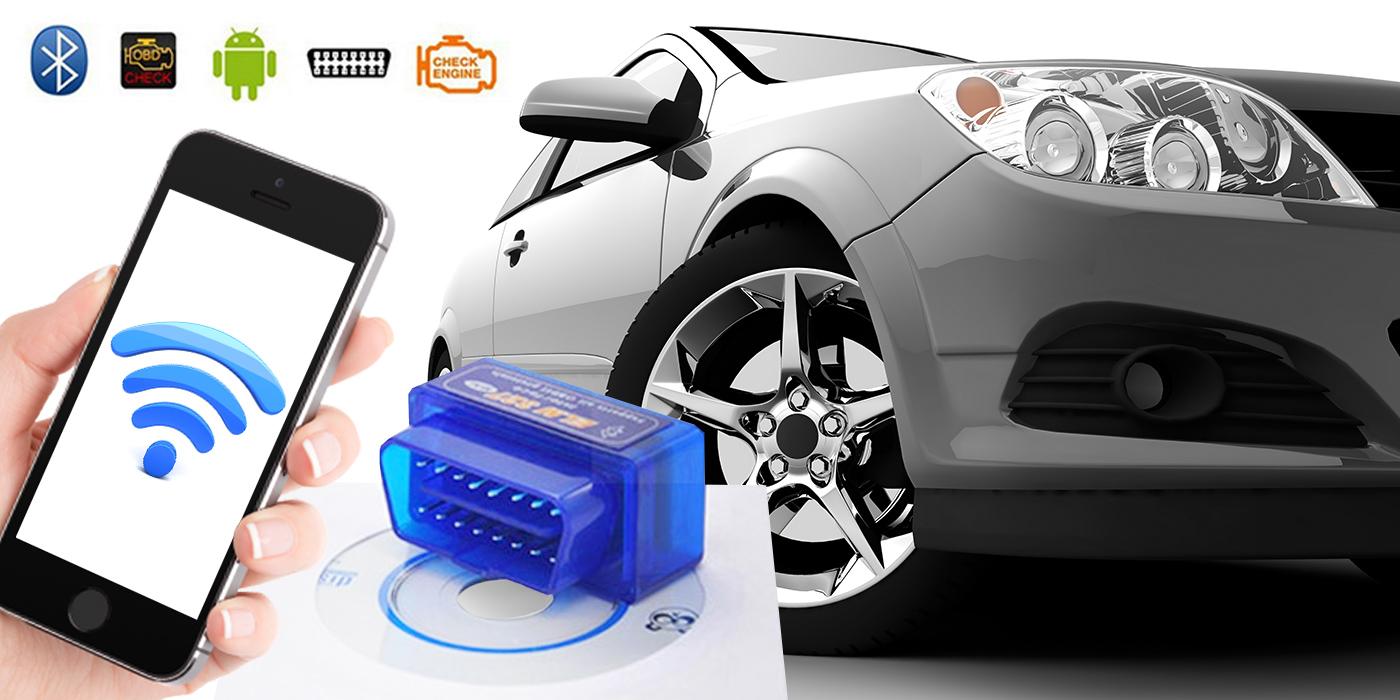 Bluetooth diagnostika motora s CD s ovládačom
