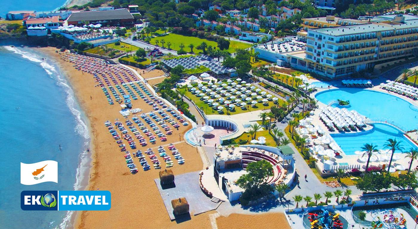 Fotka zľavy: Oddýchnite si na čarovnom severnom Cypre počas 8 dní v luxusnom hoteli ACAPULCO***** pri pláži už od 359 € vrátane letenky, all inclusive light a transferom do hotela a späť!