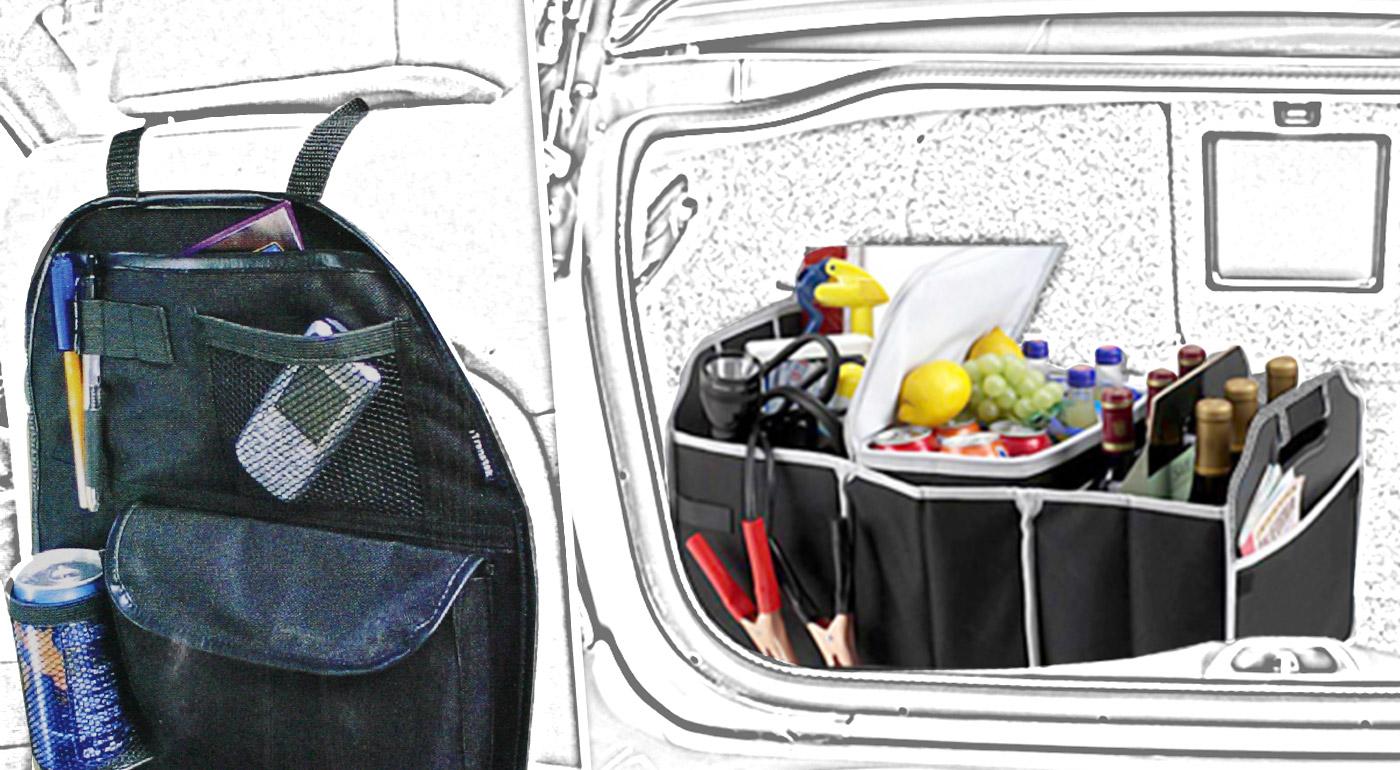 Chránič sedadla alebo organizér do kufra s termotaškou ochránia obsah vášho auta aj pri prudkých zákrutách