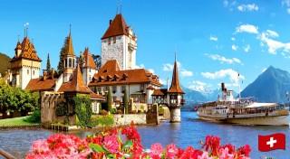 Zľava 26%: Navštívte rozprávkové Švajčiarsko a nechajte sa očariť nádherným ostrovom kvetov Mainau počas 5-dňového zájazdu len za 199 € vrátane ubytovania s raňajkami, dopravy a služieb sprievodcu.