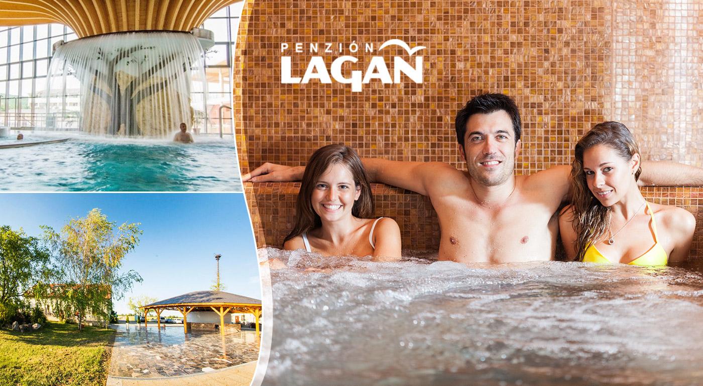 Oddych v Penzióne Lagáň blízko Rímskych kúpeľov a termálneho kúpaliska v Podhájskej