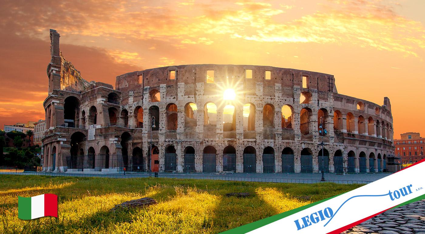 Fotka zľavy: Spoznajte bohatú históriu večného mesta Rím a tiež najmenší štát na svete Vatikán na 5-dňovom autobusovom zájazde len za 169 €. V cene doprava, ubytovanie v hoteli s raňajkami a aj prehliadka mesta.