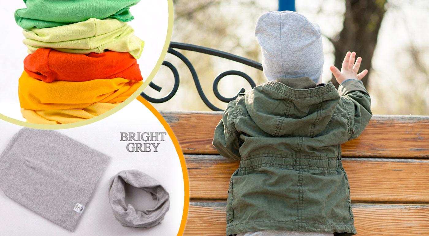 Kvalitná, štýlová čiapka a nákrčník pre bábätká a deti až v 16 žiarivých farbách!