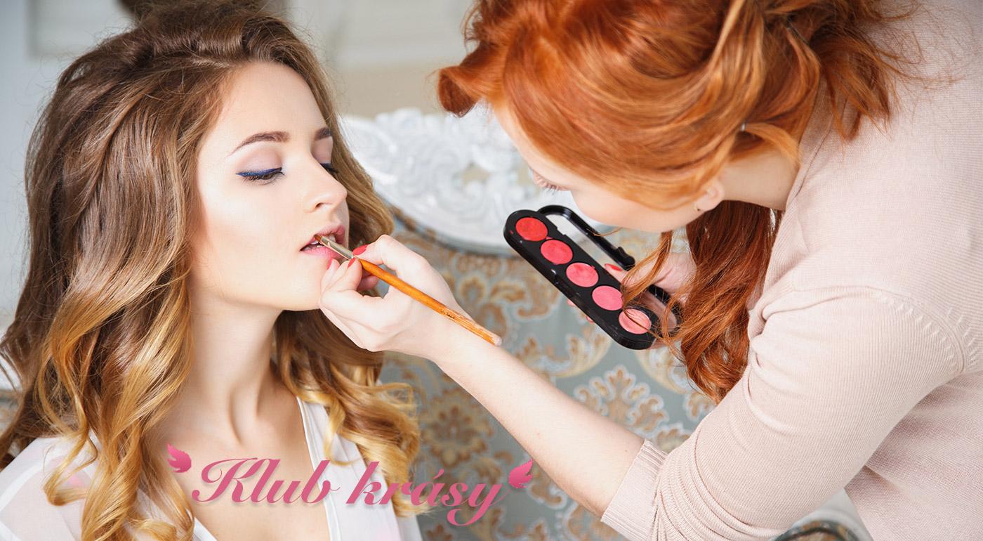 Profesionálny kurz líčenia a obliekania v Klube krásy v Bratislave